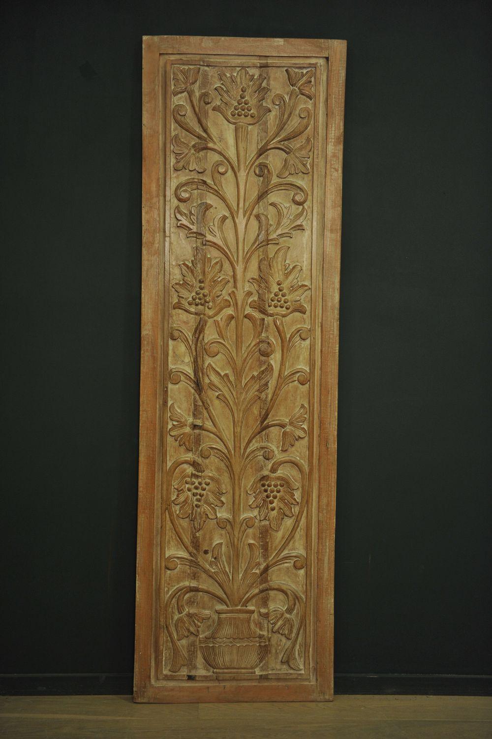 panneau fin en bois sculpt mes d couvertes. Black Bedroom Furniture Sets. Home Design Ideas