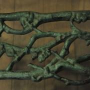 Banc en fonte de fer à décors végétal(1)