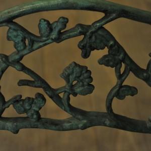 Banc en fonte de fer à décors végétal(5)