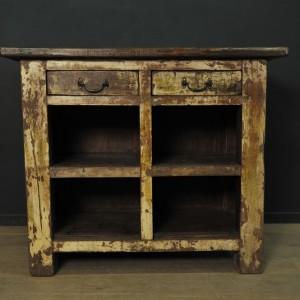 Comptoir a tiroirs en bois  (2)