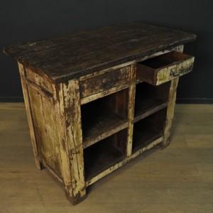 Comptoir a tiroirs en bois  (4)