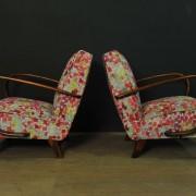 Paire de fauteuils designer Jindrich Halabala  (2)