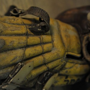Paire de protège tibias anciens pour joueurs de cricket(5)