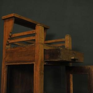 pupitre d orateur en verre et bois (4)