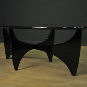 table basse verre et bois scandinave  (1)