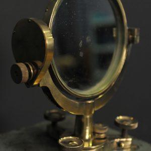 miroir de marine en laiton reflecteur de lumiere pour calcul de distance  (3)