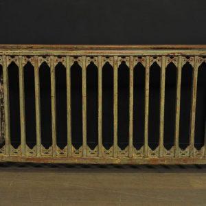 cache radiateur bois patine