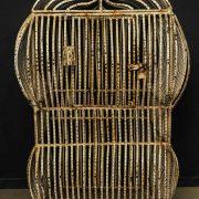 Grande cage à oiseaux en métal