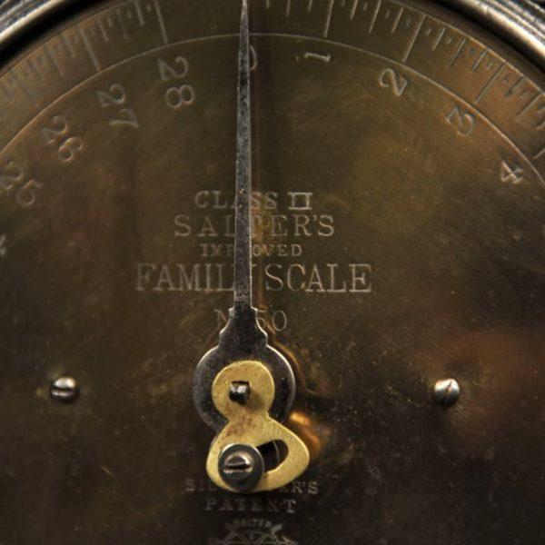 balance cuivre vintage collection