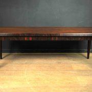 table basse vintage scandinave bois