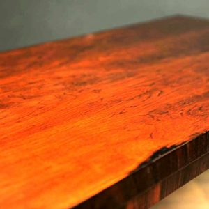 table basse vintage scandinave bois