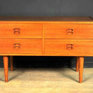 meuble tiroirs scandinave teck 1960