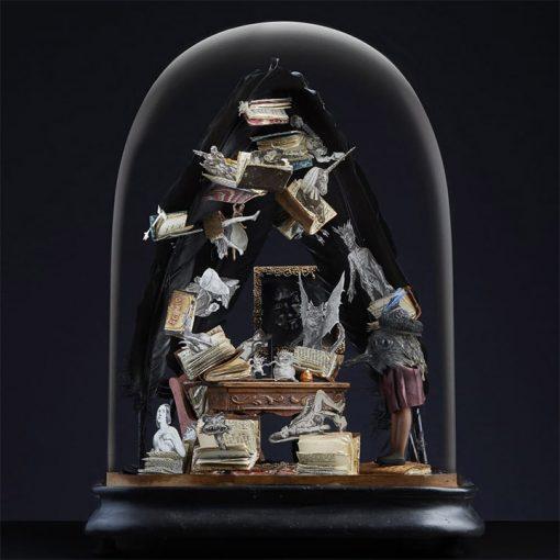 Composition sous globe « Spirit »