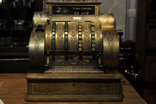 Caisse enregistreuse circa 1910