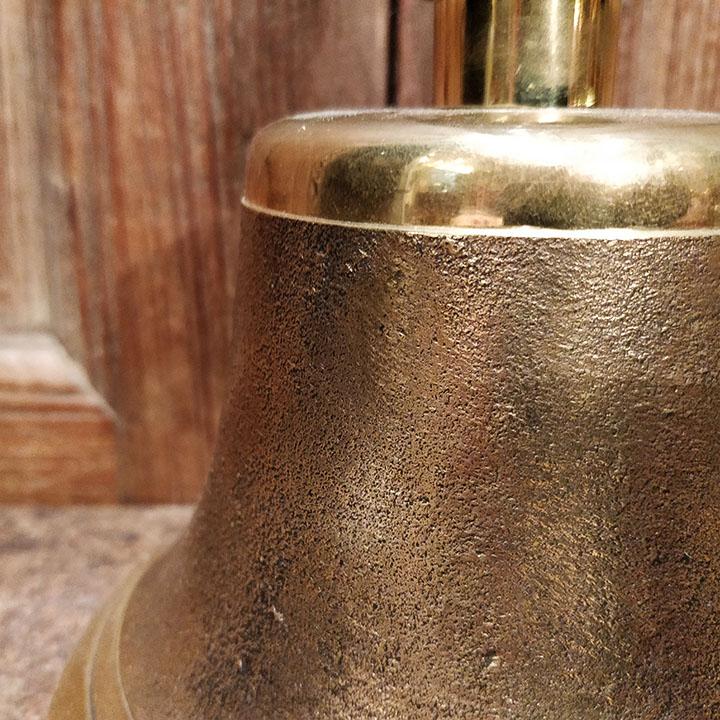 Cloche de gare en bronze