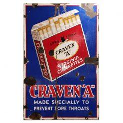 """Plaque émaillée Craven """"A"""""""