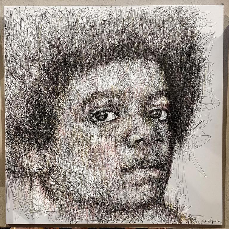 Portrait de Michael Jackson par Hom Nguyen