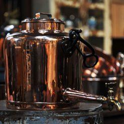 Fontaine en cuivre