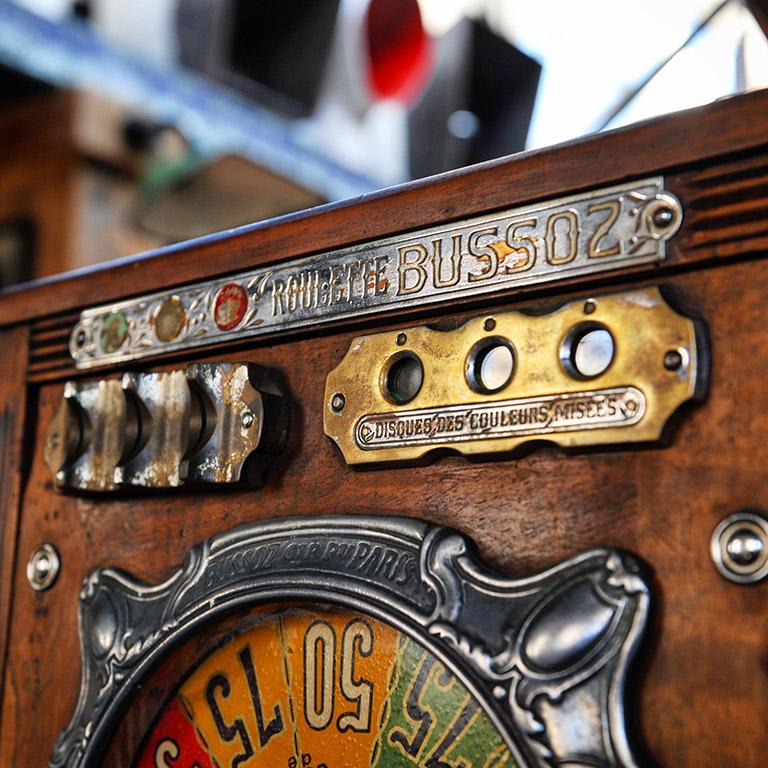 Roulette de bar parisien BUSSOZ de 1934