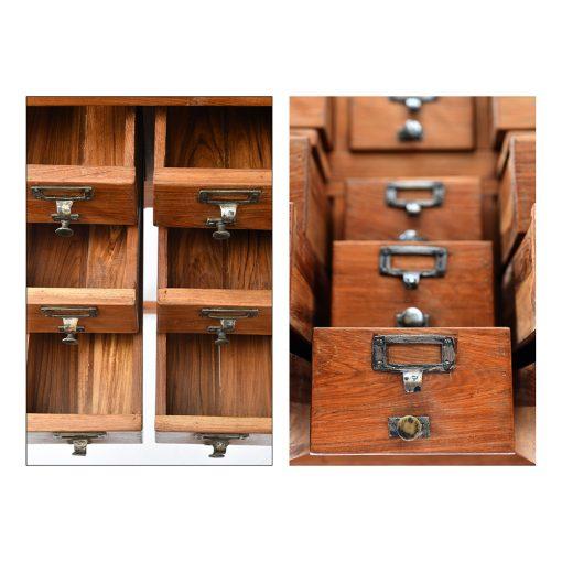 Meuble d'apothicaire à 20 tiroirs - Mes découvertes Julien Cohen