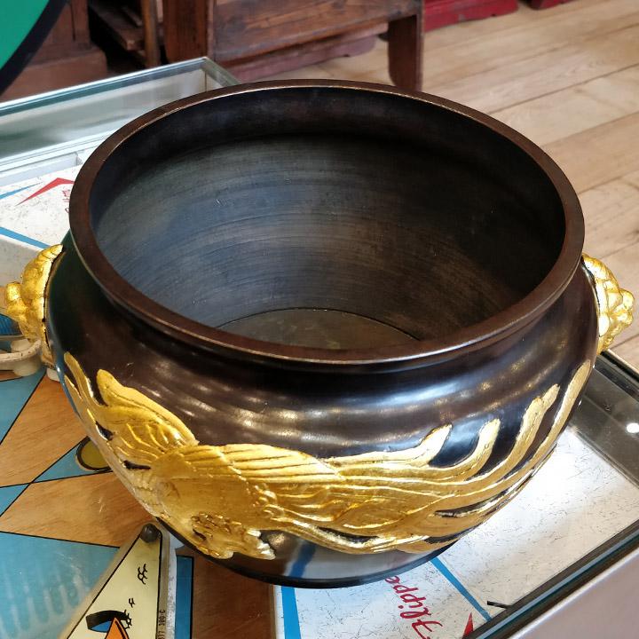 Paire de cache-pots en bronze Japonais du XIXème siècle