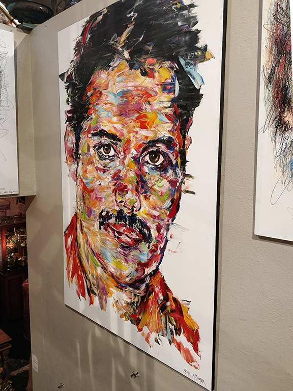 Portrait de Freddie Mercury par Hom Nguyen