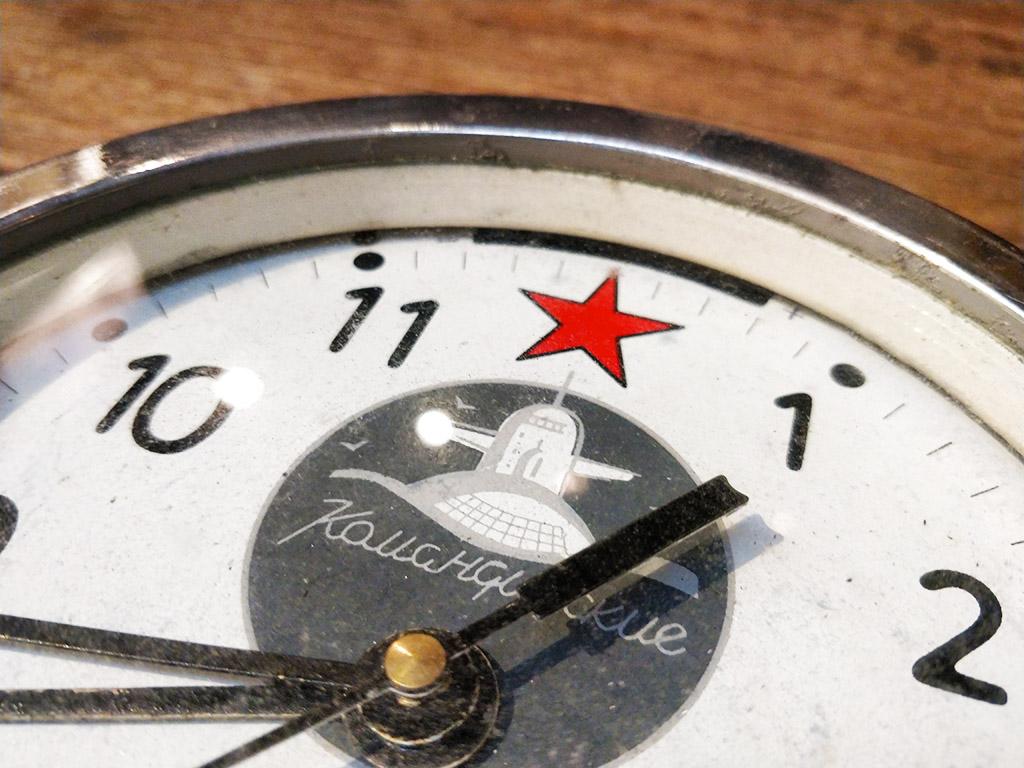 Horloge de bateau russe