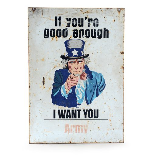 Plaque émaillée de l'armée américaine recto / verso Circa. 1942 - Julien Cohen - Mes Découvertes