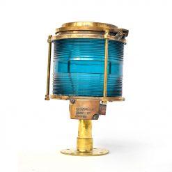 Ancienne lanterne de bateau russe - Julien Cohen Mes Découvertes