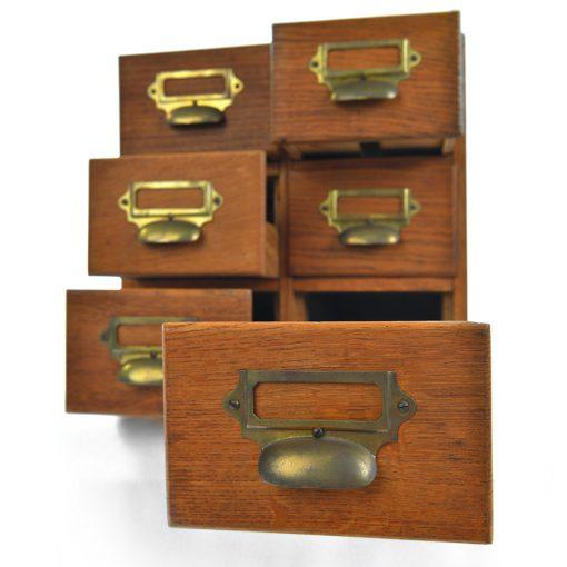Petit meuble de bureau d'apothicaire - Julien Cohen Mes Découvertes