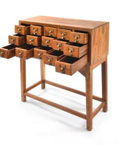 Meuble d'apothicaire à 15 tiroirs - Julien Cohen Mes Découvertes