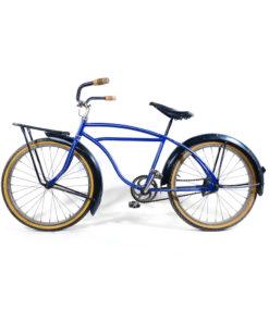 Vélo bleu vintage