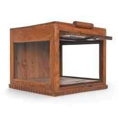 Petite vitrine en bois - Julien Cohen Brocante en ligne