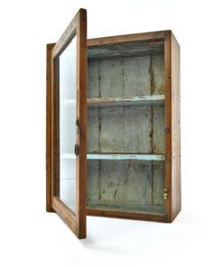 Petite vitrine en bois - Julien Cohen Affaire Conclue