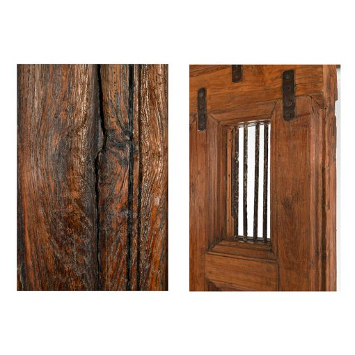 Rebord de fenêtre en bois avec miroir - Julien Cohen Affaire Conclue