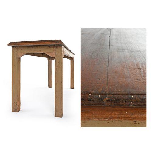 Table en bois - Julien Cohen Affaire Conclue