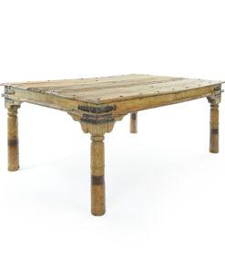 Table indienne en bois - Julien Cohen Affaire Conclue