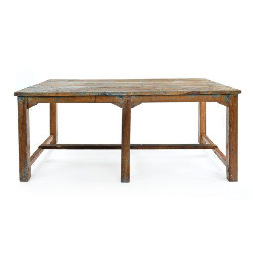 Table en bois patiné - Julien Cohen