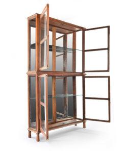 Grande vitrine en bois - Julien Cohen Affaire Conclue