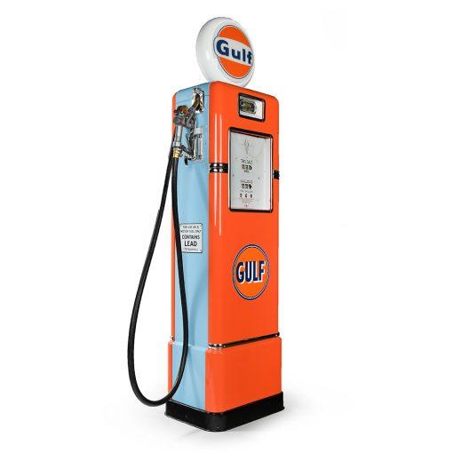 Pompe à essence GULF américaine de 1936 restaurée - Julien Cohen Mes Découvertes