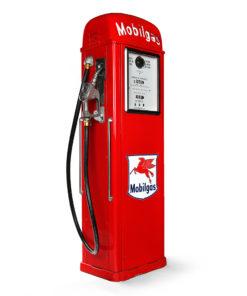 Pompe à essence Mobil américaine de 1946 restaurée - Julien Cohen Mes Découvertes