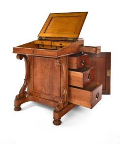 Bureau en bois Davenport Circa 1890