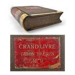 Grand livre de comptes Giron Frères de 1892 - Cabinet de Curiosité - Mes Découvertes