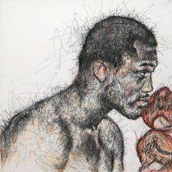 Joe Frazier et Mohammed Ali par Hom Nguyen - Julien Cohen Mes Découvertes