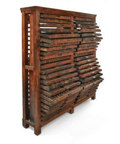 Meuble d'opticien en bois à 46 tiroirs - Julien Cohen Mes Découvertes