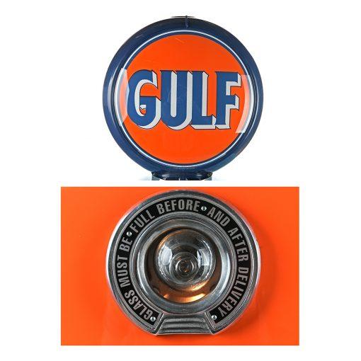 Pompe à essence GULF de 1957 restaurée - Julien Cohen Mes Découvertes
