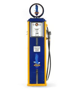 Pompe à essence RICHFIELD américaine de 1937 restaurée