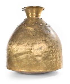 Vase en laiton - Julien Cohen Mes Découvertes