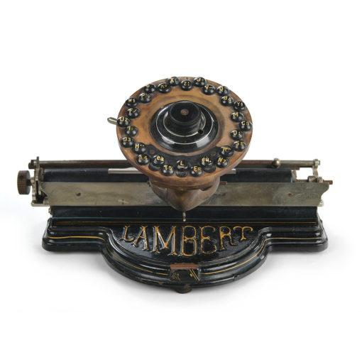 Machine à écrire Lambert