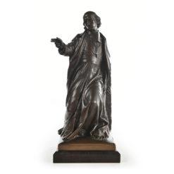 Archevêque Georges Darboy en bronze signé Jean-Marie Bonnassieux